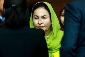 马国前首相夫人罗斯玛