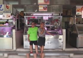 Brothers at Nostalgic Tiong Bahru Market