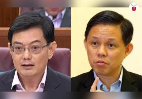 新加坡4G一代总理热门人选是王瑞杰和陈振声
