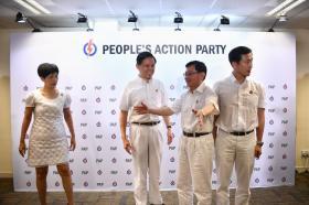 人民行动党于2018年11月23日公布新一届中央执行委员会职务,财政部长王瑞杰正式出任行动党第一助理秘书长,贸工部长陈振声担任第二助理秘书长