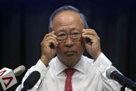 2011年微差落败,与总统宝座擦肩而过的人民行动党前国会议员陈清木。(海峡时报)