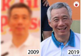 李显龙的十年对比挑战