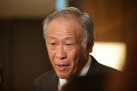 新加坡国防部长黄永宏。