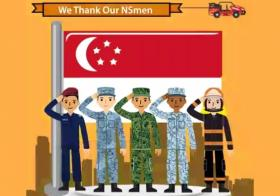 国民服役人员,感谢你们!