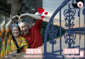 李总理四年前与四年后的情人节闪照。(苏羽葳制图)