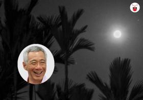 总理昨日欣赏超级月亮,配上一篇苏轼的《水调歌头》