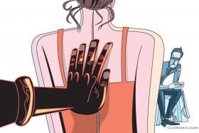 27岁变态男人逼老婆卖淫、性侵女儿又非礼外甥女。