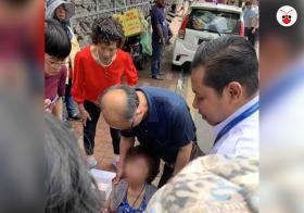 中国女游客在马国被抢破财又破相