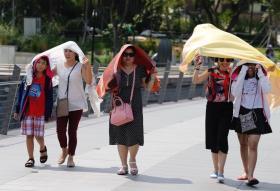 新加坡连一个太阳都那么热了,有九个还得了?(互联网)