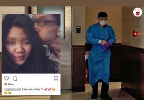 女婴父母在生下女婴前曾在社交媒体Instagram合照留言:宝贝我爱你!!!结果却亲手将亲生宝贝丢弃,成为法医解剖室中的一具冷冰冰尸体。(戴筠懿制)