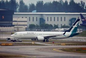 胜安航空737MAX8飞机