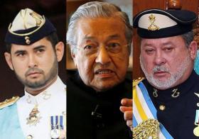 受不了柔佛王室该该叫? 马哈迪撤销签署《罗马规约》