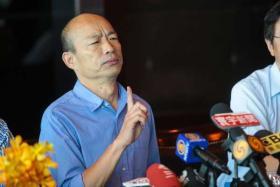 想选总统不好意思明讲? 韩国瑜声明被批打迷糊仗