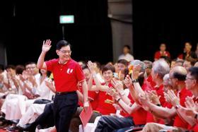 王瑞杰在5月1日升任副总理,首次以行动党第四代领军人物身份,在职总劳动节集会上发表主旨演说。