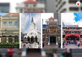 滑铁卢街上的四大宗教场所(郭跃男制图)