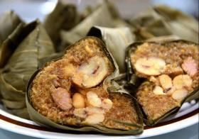 台湾粽子的南北之争