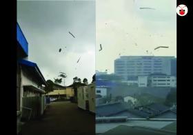 Singapore Tornado at Tuas Gul Avenue