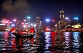 香港维多利亚湾