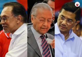 被逼宫火气大? 马哈迪流鼻血,阿兹敏夜会巫统议员掀波