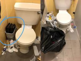 当洗厕所比死还难。