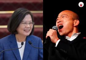 """台湾大选明天上演 年轻世代将成""""造王者"""""""