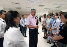 PM Lee Hsien Loong at NCID
