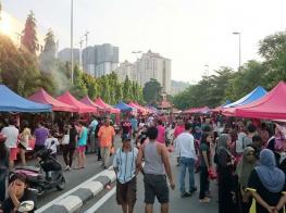 吉隆坡斋戒月市集