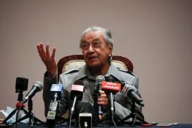 马国前首相马哈迪