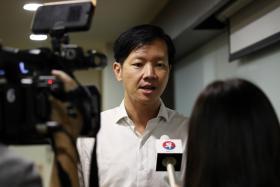 林绍权宣布退选后接受联合早报访问