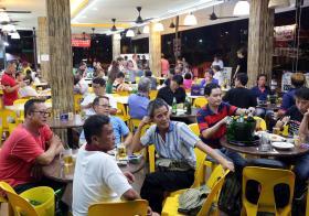 新加坡咖啡店