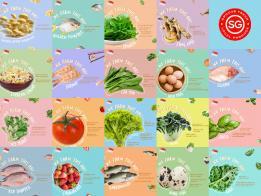"""新加坡""""土生土长""""的19种蔬菜、菌类、水果、鸡蛋、虾、鱼以及牛蛙"""