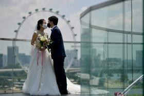 疫情阻挡不了真爱 新人抢在这两个好日子注册结婚!