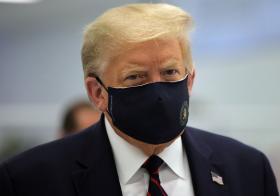 美国总统特朗普确诊冠病