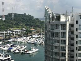 圣淘沙升涛湾的升涛舫豪华公寓外观。(海峡时报)