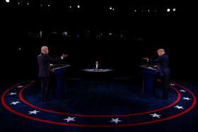 """两位老男孩""""学乖""""了 """"比较正常""""的第二场美国总统辩论还精彩吗?"""