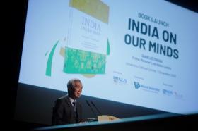 李显龙总理为许通美教授主编的《印度印象》主持发布仪式