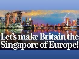 """昔日之徒今日之师? 英国要成为""""欧洲的新加坡"""""""