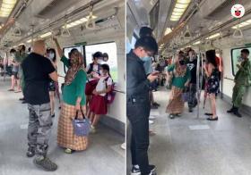 新加坡地铁车厢