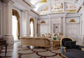 宫殿的宾客大厅