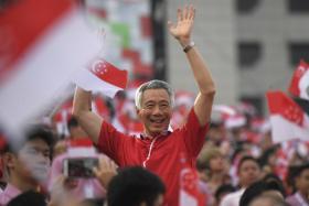 李显龙总理生日快乐