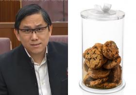 """将国家储备金比喻为饼干桶 PAP议员批评反对党是""""饼干怪物"""""""