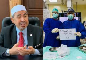 """马国高官、议员接连遭踢爆抢在医护人员之前""""插队""""打疫苗"""