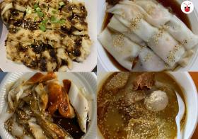 Varieties of Chee Cheong Fun