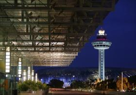 樟宜机场第三搭客大厦与星耀樟宜