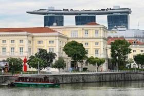 新加坡河景色