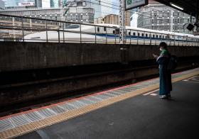 日本新干线子弹火车