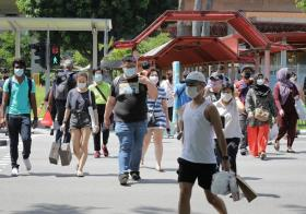 新加坡是一个多元种族社会