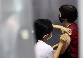 新加坡全国冠病疫苗接种计划