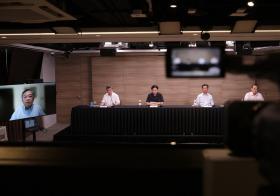 政府抗疫跨部门工作小组记者会