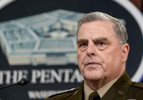 美国陆军上将,参谋长联席会议主席马克米利